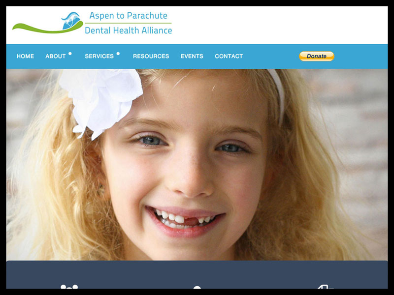 Crux media website design client - APDHA