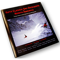 Crux Media Photography client - Fifty Classic Ski Descents in North America