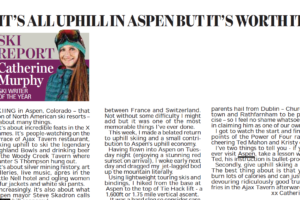 It's all uphill in Aspen but it's worth it – Irish Daily Mail