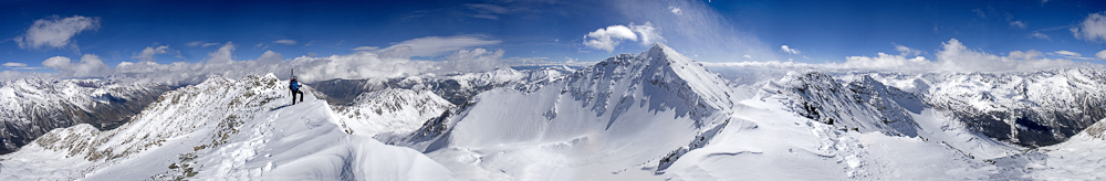 Ted Mahon's 13er and 14er ski descents page